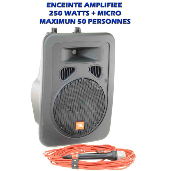 EON 10 G2 - JBL - 100 watts - Ensemble sonorisation 6