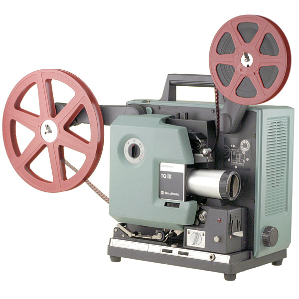 Projecteur film 16 mm sonore - BELL & HOWELL 1663 - 1980