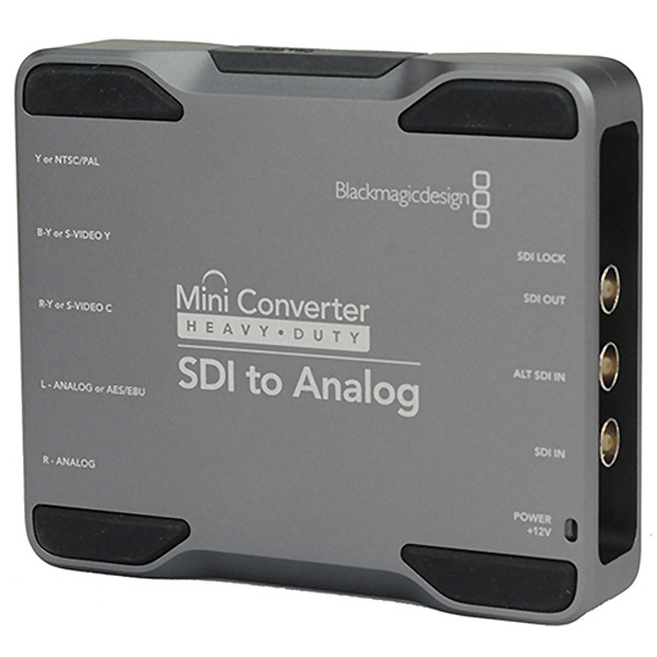 SDI to analogue - BLACKMAGIC - Convertisseur