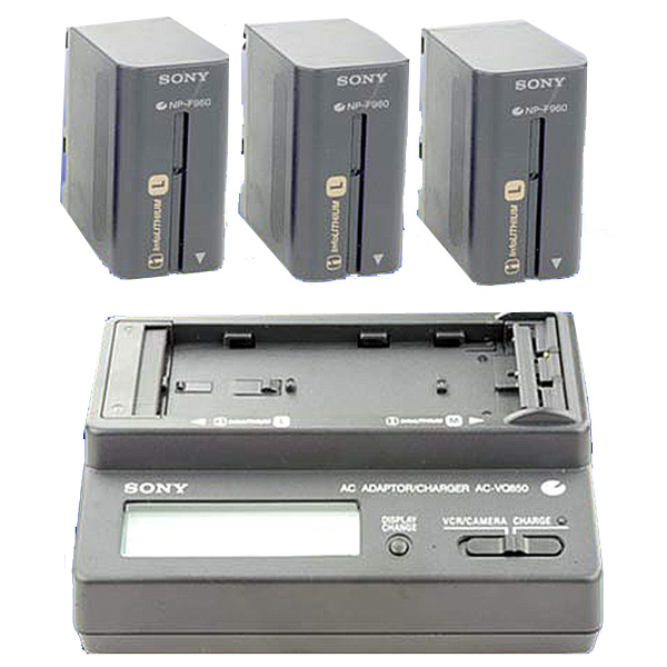 NPF970 SONY - Kit batteries - KB01