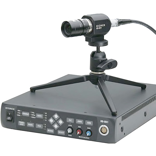 RH1 ICONIX - Paluche tri ccd - HD - type broadcast