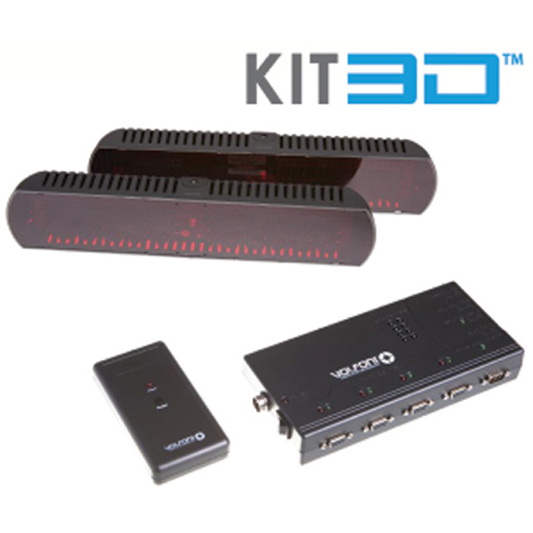 KIT 3 D - shutter glass - VOLFONI 3DGE