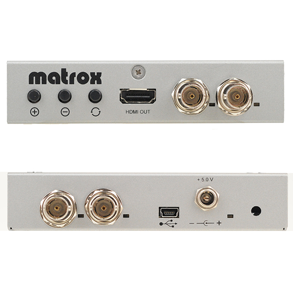 MC100 MATROX - Commutateur perte de signal - TBC - Convertisseur HDSI/HDMI - Switcher - Amplificateur ...