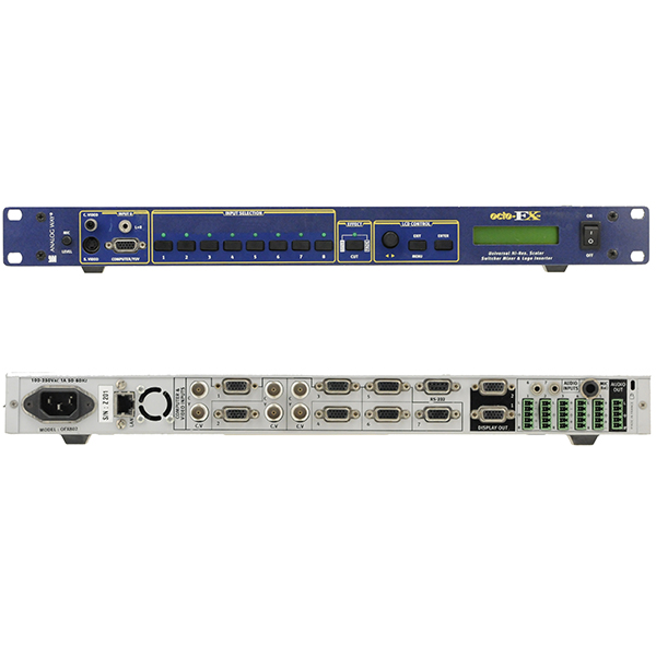 OCTOFX - ANALOGWAY - Switcher commutation propre - scaler