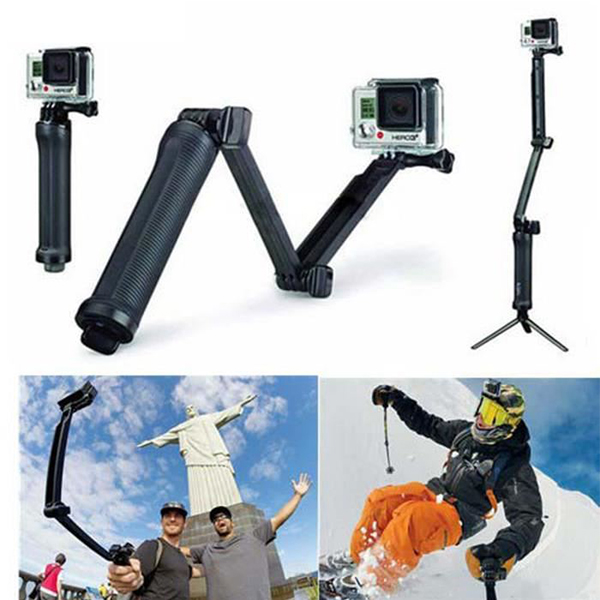 3-Way grip arm tripod perche gopro
