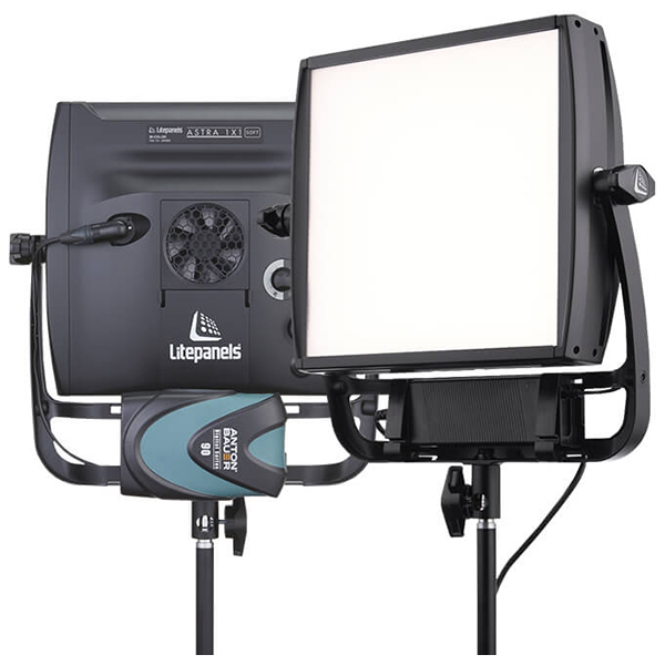 LITEPANELS - ASTRA soft - Panneau leds bicolor - 30 x 30 cm