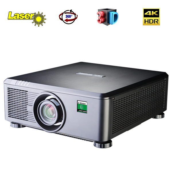 E-Vision Laser 4k - DIGITAL PROJECTION - 4.4.4 - 7500 lumens - HDMI 2 - objectif interchangeable