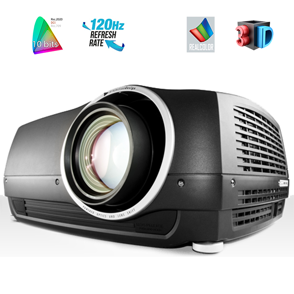 F35AS - FULL HD - BARCO - PROJECTION DESIGN - 8000 lumens - HDMI - objectif interchangable