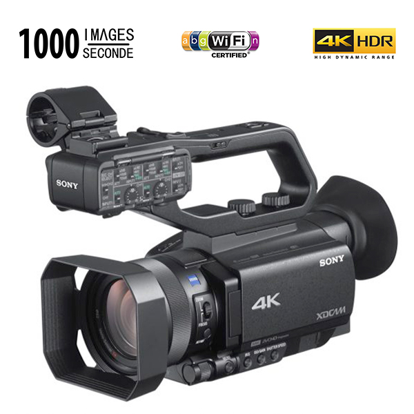 PXW-Z90 SONY - 4K/HDR - capteur: 21MP - 1000 images par seconde