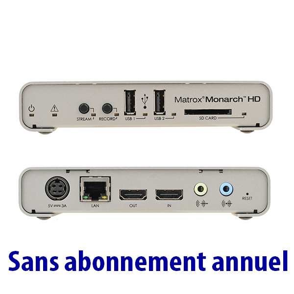 HD Matrox Monarch - mono encodeur H264