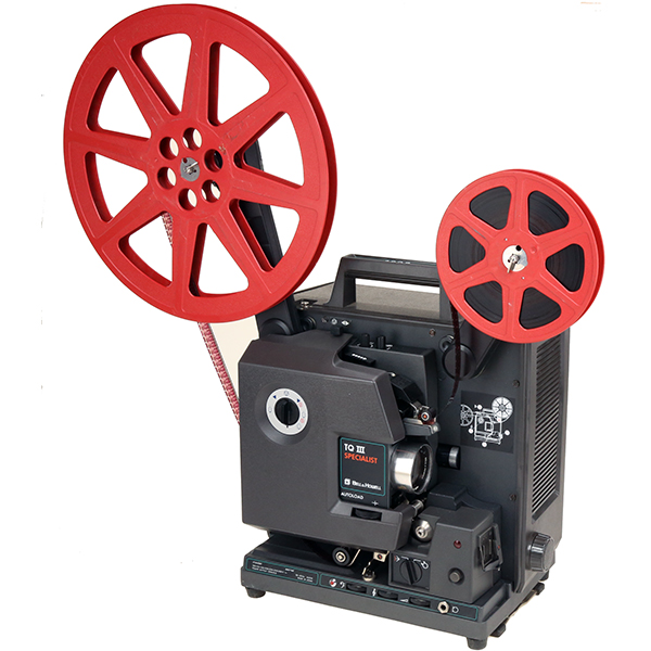 Projecteur film 16 mm sonore - BELL & HOWELL - 1690 SPECIALIST - 1980