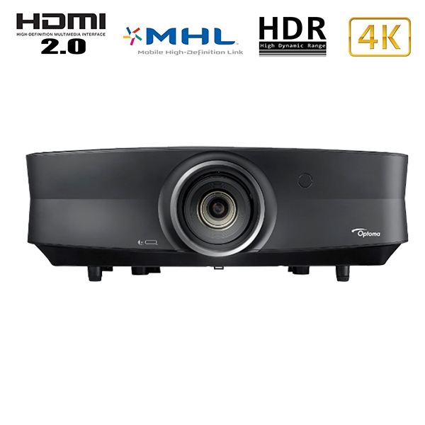 UHZ65 OPTOMA - 4k - laser - 3000 lumens - optique: 1.39 x 2.22