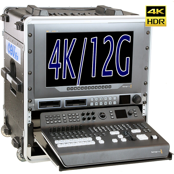 REGIE H -  4K/12G - BLACKMAGIC - 8 in - SDI