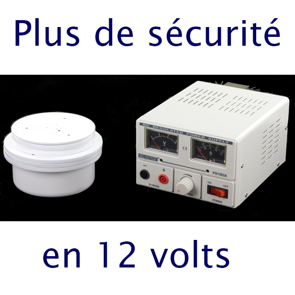 Tournette plateau tournant D - Ø 23 cm - vitesse variable - charge maxi: 10 kgs