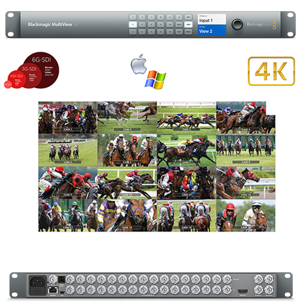 MULTIVIEW 16 BlackMagic - 4k