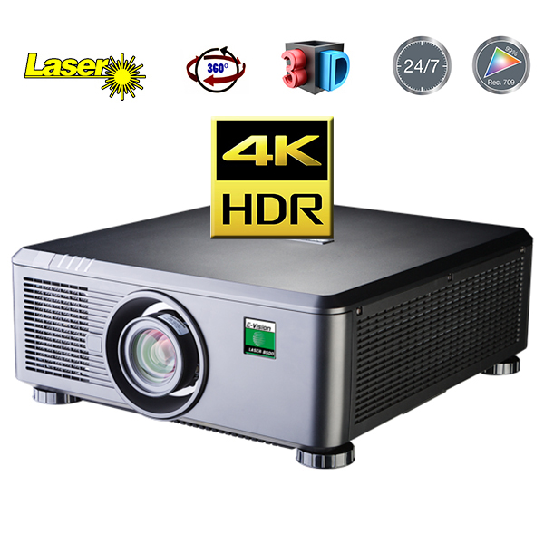 E-Vision Laser 4k hc - DIGITAL PROJECTION - 4500 lumens - 4.4.4 - HDMI 2 - objectif interchangeable