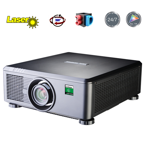 E-Vision Laser - DIGITAL PROJECTION - Full HD 60 hz - 6500 lumens - objectif interchangable