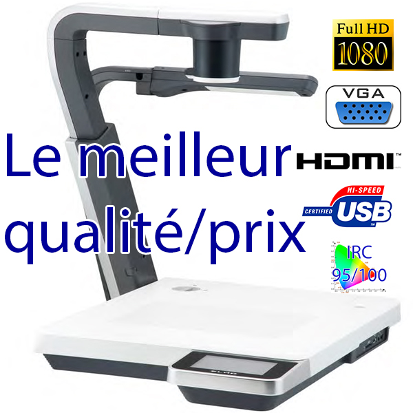 P100HD ELMO - full HD - HDMI - USB   Banc titre 03