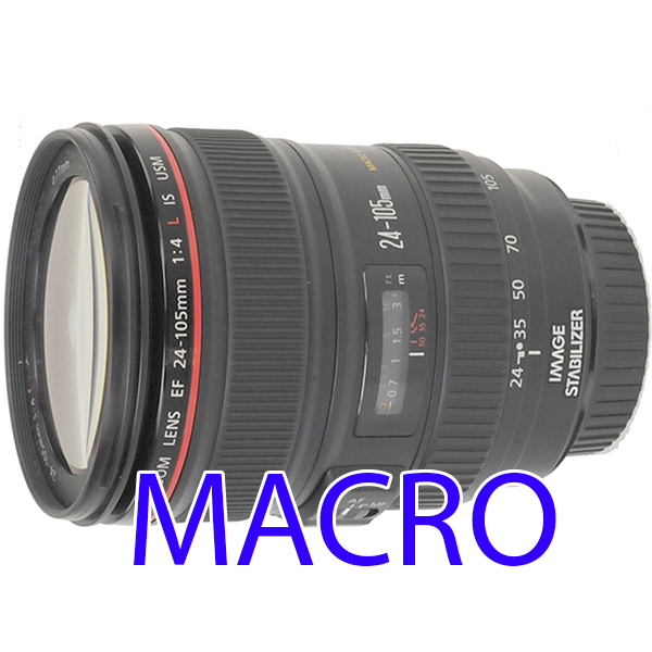 EF 24-105mm /4 L IS USM CANON - Zoom - macro