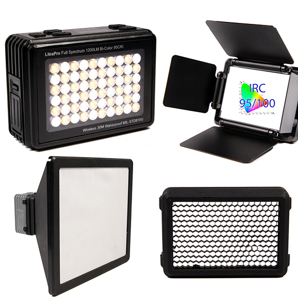 LP1200 LITRA PRO - TORCHE LED BICOLORE - kit