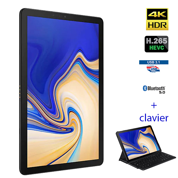 Galaxy Tab S4 SM-T830 - SAMSUNG - Tablette - Wi-fi direct - 128 Go - 10""