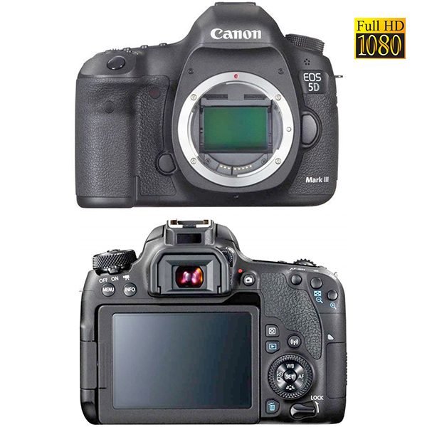EOS-5D MARK III CANON - capteur: 22 MP - carte CF