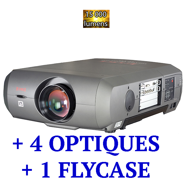 XT5 EIKI -15 000 lumens - HD ready - HDMI + 4 objectifs interchangeable