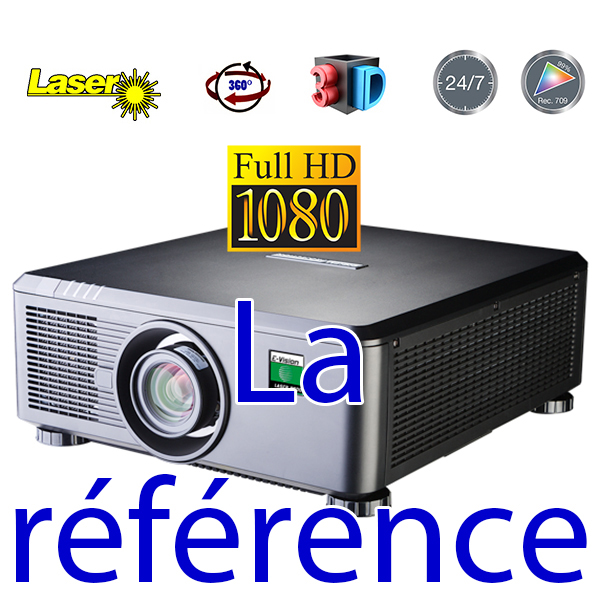 E-Vision Laser - DIGITAL PROJECTION - 10 500 lumens - Full HD 60hz - objectif interchangeable
